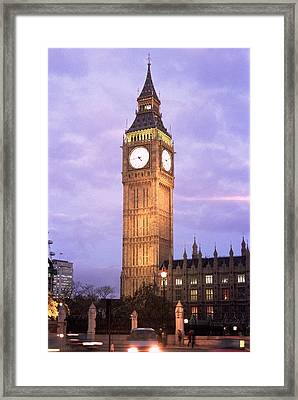 London Time Framed Print