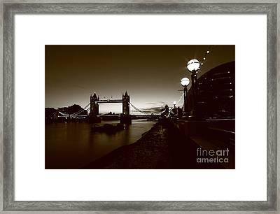 London Tower Bridge  Framed Print by Mariusz Czajkowski