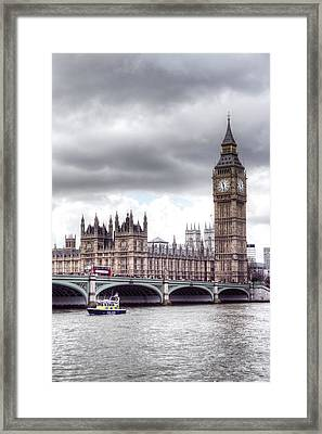 London Town Framed Print by Fizzy Image