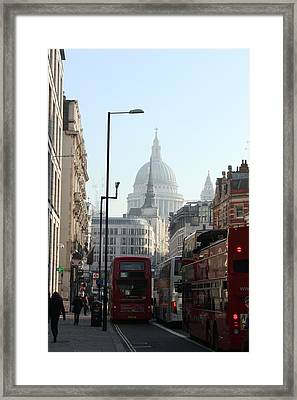 London Town Framed Print by Pat Purdy