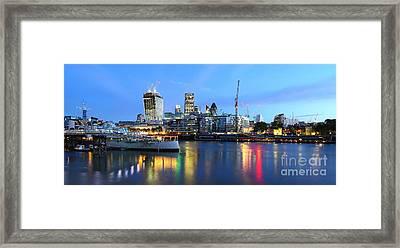 London View Framed Print by Mariusz Czajkowski