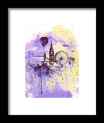 City Of London Framed Prints