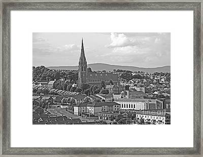 Londonderry Framed Print by Mary Carol Story