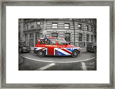 London's Calling Framed Print