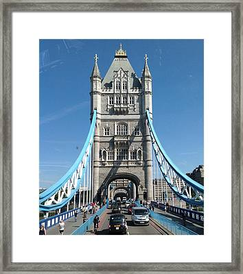 London's Tower Bridge Framed Print