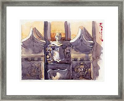 Lone Guardian Framed Print by Max Good