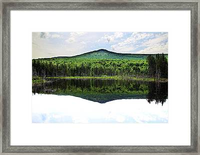 Lone Lake Framed Print by Andrea Galiffi