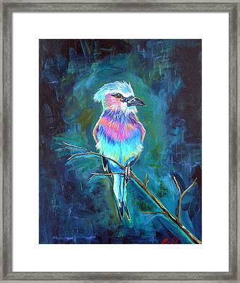Lone Roller Framed Print by Dawn Gray Moraga