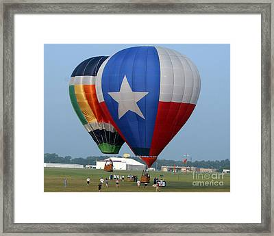 Lone Star Pride Framed Print by Paul Anderson