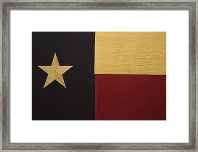 Lone Star Proud Framed Print