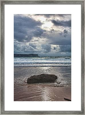 Lone Stone Framed Print