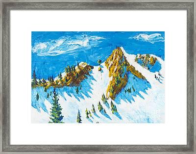 Lone Tree 1 Framed Print