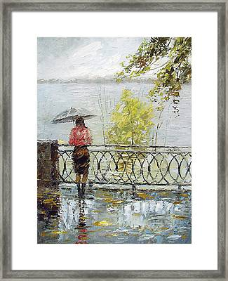 Loneliness Framed Print by Dmitry Spiros