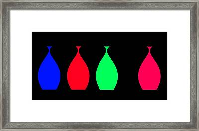 Lonely Amphora Framed Print