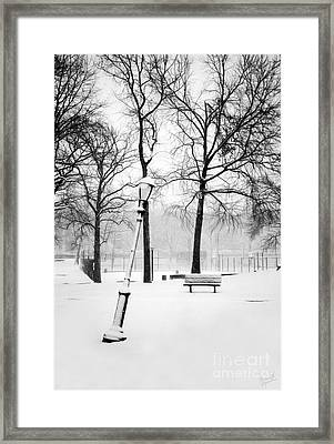 Lonely And Broken Framed Print