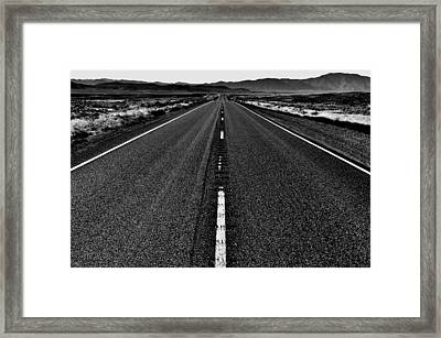 Lonely Framed Print by Benjamin Yeager