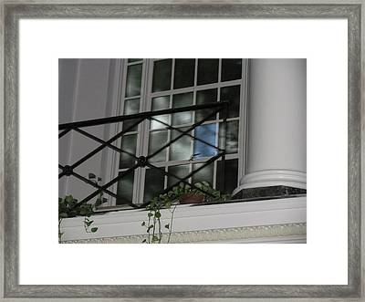 Lonely Blue Framed Print