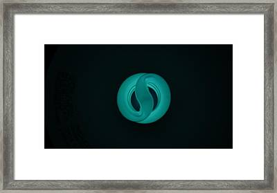 Lonely Bulb Framed Print by Marguel Gutierrez