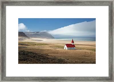 Lonely Church Framed Print