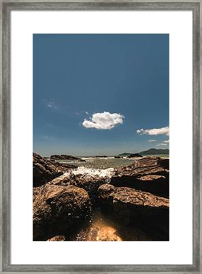 Lonely Cloud Framed Print
