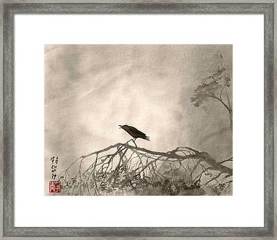 Lonely Cry One Framed Print