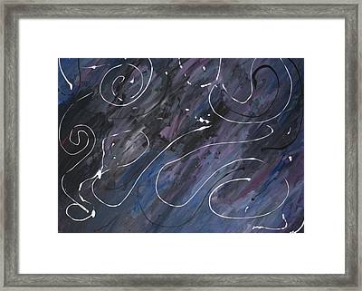 Lonely Day Framed Print