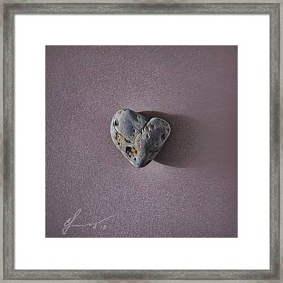 Lonely Heart Framed Print by Elena Kolotusha