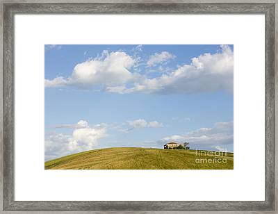 Lonely House Framed Print by Maurizio Bacciarini