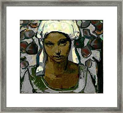 Lonely In The Garden .. Digital Graphics Framed Print by  Pemaro