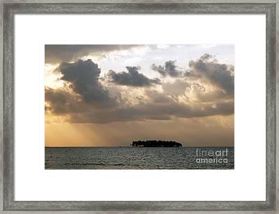 Lonely Island Framed Print by James Brunker
