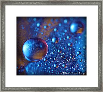 Framed Print featuring the photograph Lonely by Michaela Preston