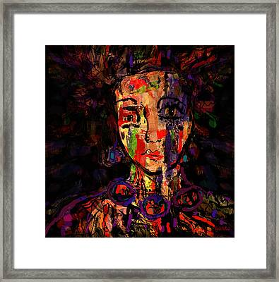 Lonely Framed Print by Natalie Holland