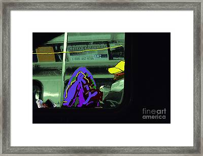 Lonely Ride Framed Print by Joe Jake Pratt