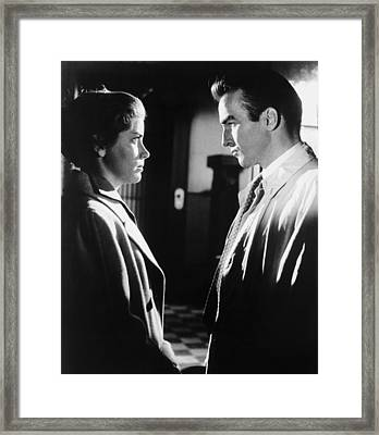 Lonelyhearts, From Left, Dolores Hart Framed Print