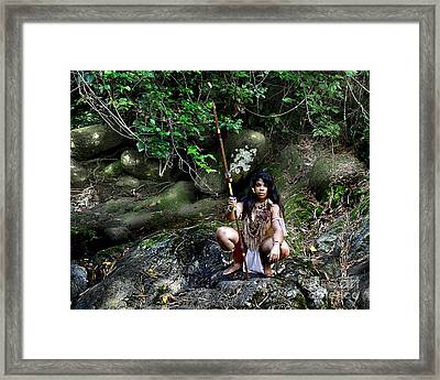 Lonesome Champion Framed Print