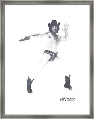 Lonesome Cowboy Framed Print