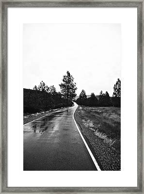 Lonesome Highway No. 2 Framed Print