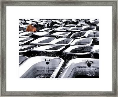 Lonesome Tub Framed Print