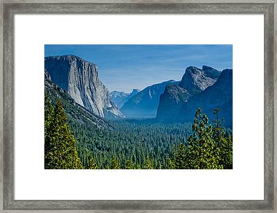 Lonesome Valley Framed Print