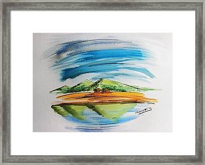 Lonesome Valley Framed Print by Shakhenabat Kasana
