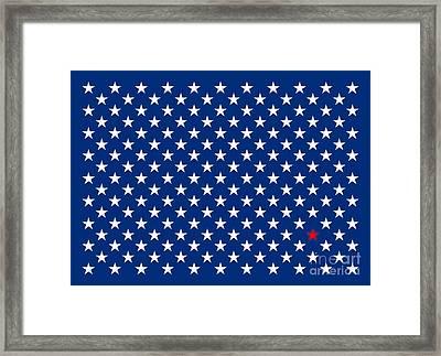 Lonestar Framed Print