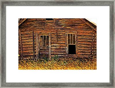 Long Abandonded 2 Framed Print by Marty Koch