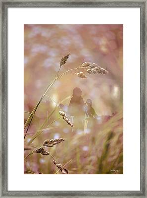 Framed Print featuring the photograph Long Ago ... by Chris Armytage