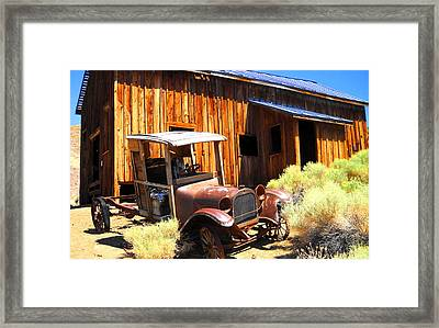 Framed Print featuring the photograph Long Ago by Marilyn Diaz