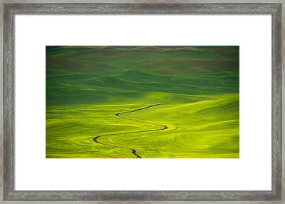 Long And Winding Road To Framed Print