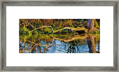Long Arms Imp Framed Print by Leif Sohlman