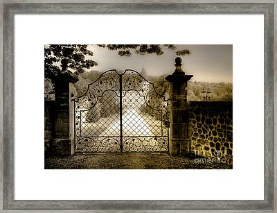 Framed Print featuring the photograph Long As I Can See The Light by Juergen Klust