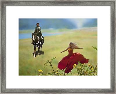 Long Awaited Return Framed Print by Kume Bryant