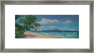 Long Bay Beach  9x23 Framed Print by John Clark