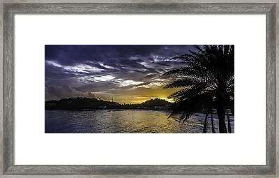 Long Bay Sunrise 1 Framed Print